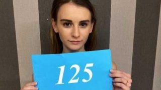 Czech Sex Casting Skinny girl gets boned primitive style