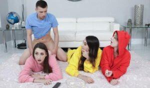 Bffs Stepbrother Crashes Slumber Party
