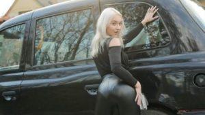 FakeTaxi Girl In A Bag Left On Backseat